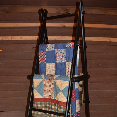 Quilt Step Ladder | DWR Custom Woodworking : quilt display ladder - Adamdwight.com